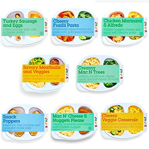 Yumble Healthy Kids Meals (pack of 8 ) | Gluten-Free, Soy-Free & Organic | Made Fresh | Created By Moms, For Moms