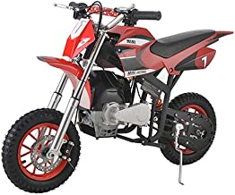 X-PRO 40cc Kids Dirt Bike Mini Pit Bike Dirt Bikes Motorcycle Gas Power Bike Off Road?Red