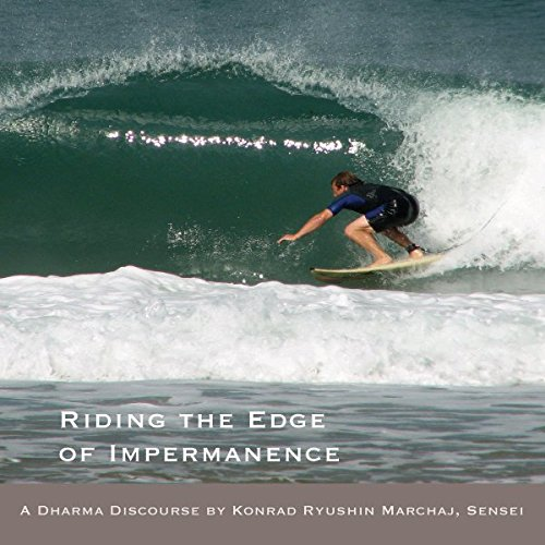 Riding the Edge of Impermanence audiobook cover art