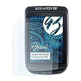Bruni Película Protectora Compatible con Sigma Pure GPS Protector Película, Claro Lámina...