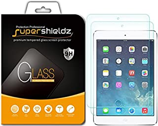 [2-Pack] Supershieldz for Apple New iPad 9.7 inch (2018/2017) / iPad Pro 9.7 inch/iPad Air 2 / iPad Air 1 (9.7-inch) Tempered Glass Screen Protector, Anti-Scratch, Bubble Free, Lifetime Replacement
