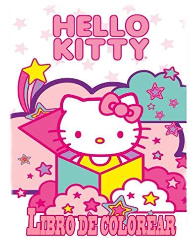 Hello Kitty libro de colorear