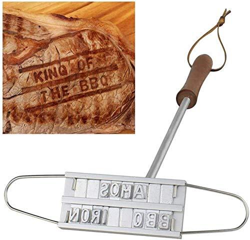 Barbecue Branding Eisen Grill Marke Unterschrift Name Markierung Stempel Werkzeug Fleisch Steak Burger 55 X Buchstaben