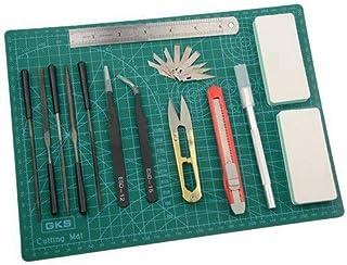 BXQINLENX Professional 15 PCS Gundam Model Tools Kit Modeler Basic Tools Craft Set Hobby Building Tools Kit for Gundam Car...