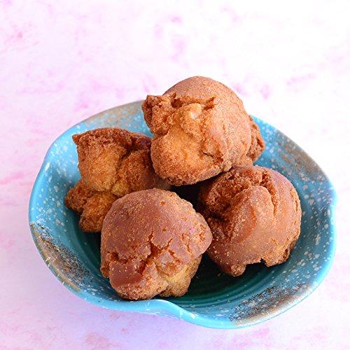 さーたーあんだぎー袋 黒糖 5個入り ×24袋 しろま製菓 沖縄銘菓のサーターアンダギー 食べやすいサイズでお子様にも大人気
