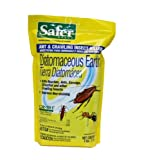 Safer Brand 51702 Diatomaceous Earth - Bed Bug, Ant and Crawling Insect Killer, 4-Pound Bag