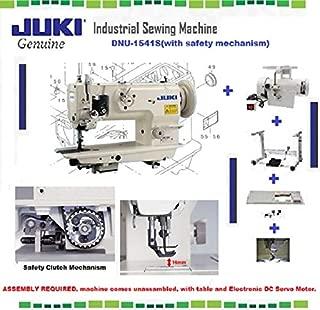 Juki DNU-1541S Industrial Sewing w/Safety Mechanism Walking Foot Needle Feed,servo Motor,Table,lamp. DIY.