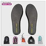 Memory Foam Insoles Shoe Insert innersole Men Size - Sneaker Insoles Replacement, Cushion Massaging Insole Kitchen Gardening Feet Pain Relief