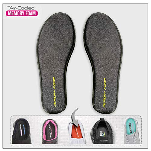 Memory-Foam Shoe-Insoles Inserts-Replacement Inner-Soles Men-Sizes - Flat Feet Pain Shoe-Pads Sneaker Inlay-Sole Arch Support Plantar Metatarsal Fasciitis Orthotics Shoe Inserts for Men Women Sizes