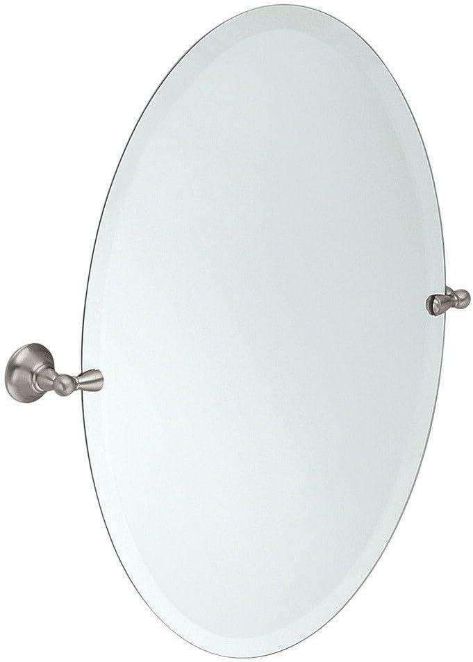 Buy Moen Dn6892bn Sage 26 Inch X 23 Inch Frameless Pivoting Bathroom Tilting Mirror Brushed Nickel Online In Hungary B000zohlgm