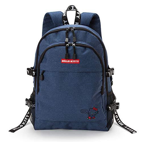 Sanrio Original Hello Kitty Backpack : Logo Tape Blue