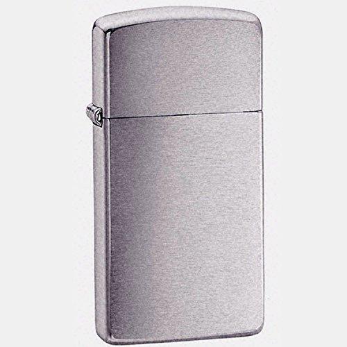 Zippo Lighter - Cromado slim-free grabado