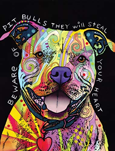 Dean Russo Pit Bull Journal: Lined Journal (Quiet Fox Designs) 144 High-Quality, Acid-Free Lined Pages for a Dream Diary or Journaling, with Vibrant Cover Art from Brooklyn Pop Artist Dean Russo
