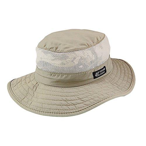 Village Hats Chapeau Bob Boonie Pliable Vented Khaki Dorfman-Pacific - Large