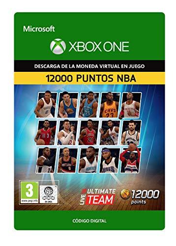NBA Live 16: LUT 12000 NBA Points Pack  | Xbox One - Código de descarga