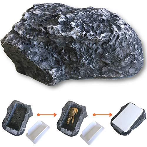 Uncommon Desks Hide A Spare Key Rock - Discrete and Realistic Stone Texture (1 Rock)