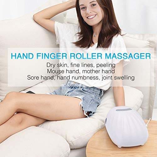 HoMove Hand Roller Massager, Hand Compression Acupressure Massager for Arthritis, Hand Massager Machine Finger Roller Massager for Arthritis & Pain Relief
