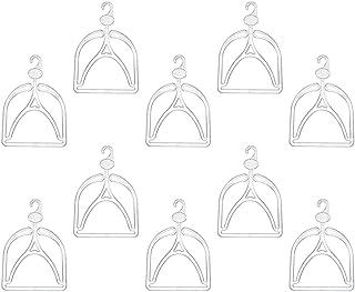 TOYANDONA 10pcs Hat Hangers Clear Cap Hangers Laundry Hanging Hooks Hat Display Hanging Hook Hat Rack Organizer for Wardro...