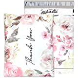 12 X 15.5 Poly Mailer (Floral - Thank You, 12