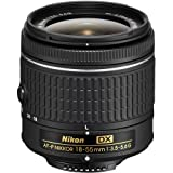 Nikon AF-P DX NIKKOR 18-55mm f/3.5-5.6G Lens for Nikon DSLR Cameras (Renewed)