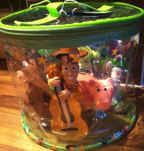 Toy Story Ensemble de jouets de bain - Woody, Buzz and Friends
