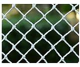 DUCHEN Red de protección para gatos resistente para balcón y ventana, red de seguridad para gatos y pájaros, protección segura transparente, con cuerda de fijación y bridas para cables