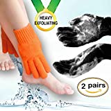 Home Spa HEAVY Exfoliating gloves Hydro full body wash to cleanse scrub gloves - Best Reviews Guide