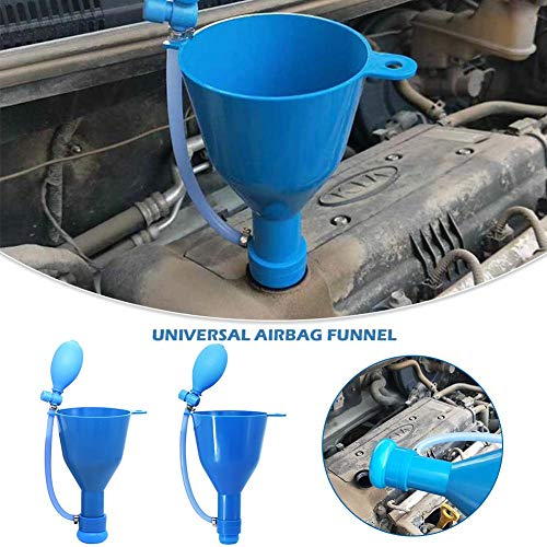 dream-cool Auto-Ölfüllung Universal-Airbag-Trichter Kfz-Motoröl-Getriebeöl-Befüllvorrichtung Betankung Spezielle Wartungsausrüstung
