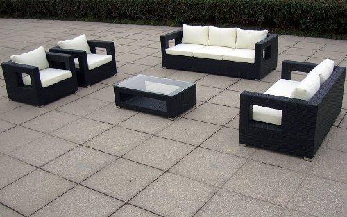 Baidani Gartenmöbel-Set Designer Lounge-Garnitur Seaside Bild 4*