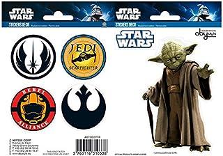 ABYstyle - STAR WARS - Stickers - Yoda / Simboli ( 16x11cm)