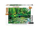 Nathan- Puzzle 1500 pièces Les Jardins de Claude Monet, Giverny Adulte, 4005556878000