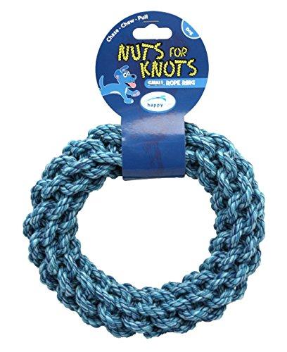 Happypet Nüsse für Knoten Ring Hundespielzeug (Size: Large), einen Artikel