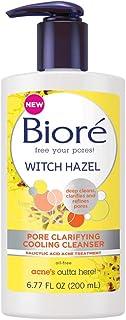 Bioré Witch Hazel Pore Clarifying Acne Face Wash, 6.77 Ounce, Exfoliating Facial Cleanser, 2% Salicylic Acid Acne Treatmen...