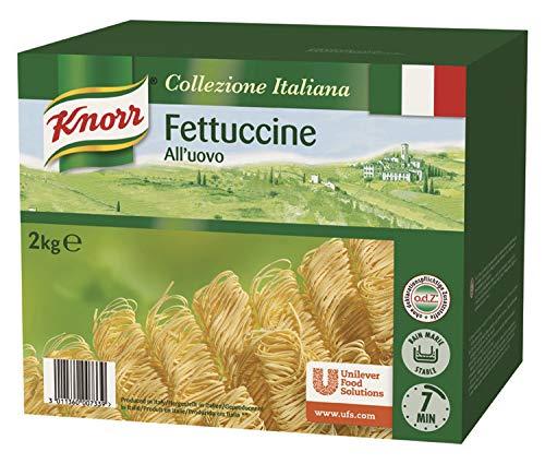 Knorr Fettuccine Pasta mit Ei - schmale Bandnudeln - Nudeln Großpackung, 2000 g