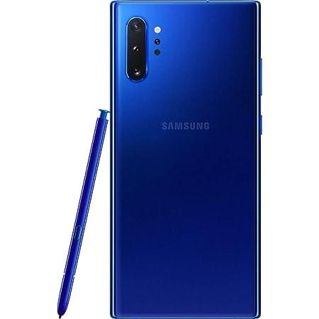 Samsung Galaxy Note 10+, 256GB, Aura Blue - Fully Unlocked (Renewed)