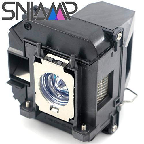 SNLAMP Calidad Original ELPLP64 / V13H010L64 Lámpara de proyector Repuesto 275W Bombilla con Carcasa para EPSON EB-D6155W EB-D6250 EB-1840W EB-1880 EB-1850W EB-1860 EB-1870 EB-935W proyectores