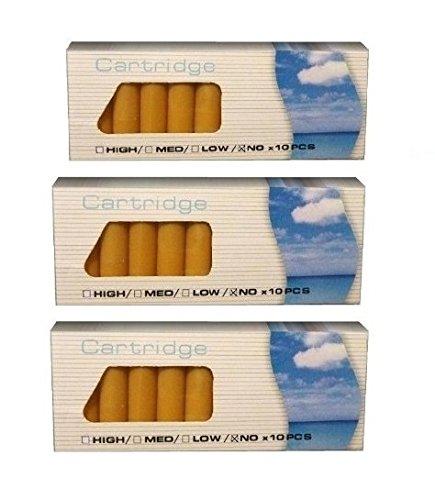 3er Pack Aromakapseln = 30 Stk: Mint, Tabak und Cherry für Ihre E-Zigarette, Clever Smoke, e-Wellness, e-health, etc, / Arseoldepots /