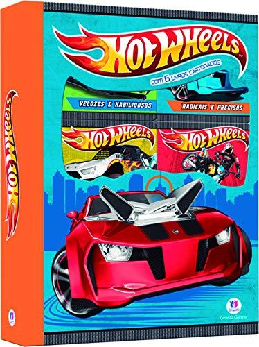 Hot Wheels - Box 6 minilivros: Com 6 livros cartonados