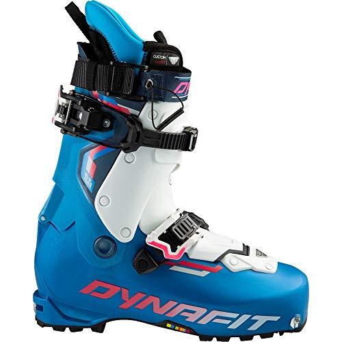 DYNAFIT W Tlt8 Expedition CL Boot Blau-Weiß, Damen Touren-Skischuh, Größe EU 39 - Farbe Methyl Blue - Lipstick