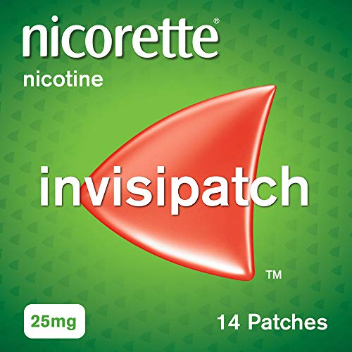 Nicorette InvisiPatch - Step 1 -Nicotine Patches That Are a Once-a-Day Way to Beat Nicotine Cravings - 25 mg, 7