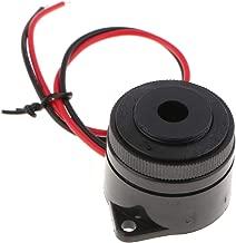 Gazechimp Zumbador Eléctrico Activo DC 12V con Cable Conductor para Arduino
