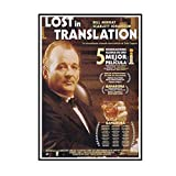 Swarouskll Lost In Translation Film Wandkunst Poster