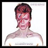 David Bowie Aladdin Sane Enmarcado clásico álbum Funda filmcell Factory, Multicolor, 30,5cm