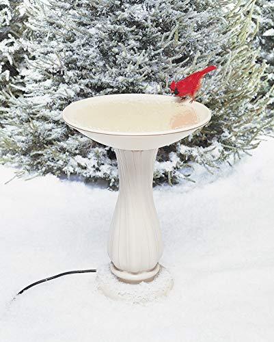 API Heated Birdbath Heated Bird Bath with Mounting Hardware (Item No. 600)