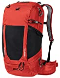 Jack Wolfskin Mochila de senderismo unisex Kingston 30 Pack Recco ventilada, Unisex adulto, Mochila de senderismo, 2008811-2066, rojo lava, talla única