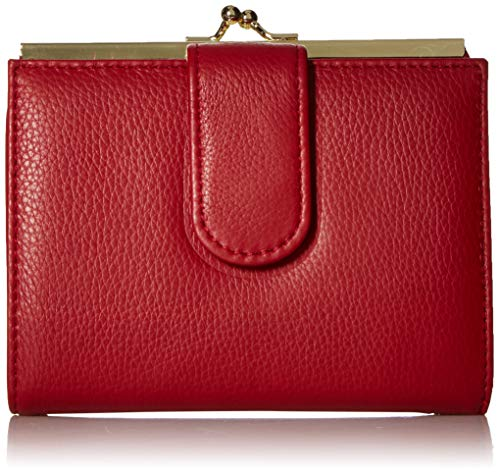 Buxton Florence II RFID Lexington Wallet, Red