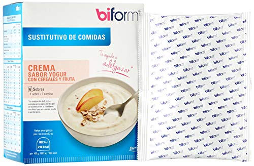 DIETISA - biform - Sustitutivos para Adelgazar - Crema Yogur Cereales 312g (29977)