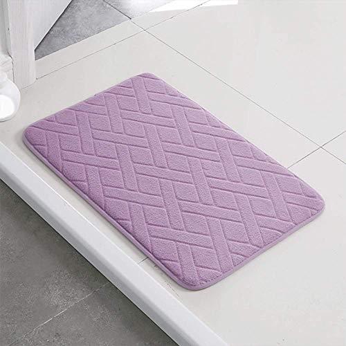 LHJY Coral Fleece Fabric Home Geometric Doormat Non-slip Backing,Door Mat Indoor/Outdoor(Support Customization)(Size:40×60cm(15.7×23.6in,Color:A6)