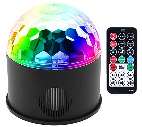LED Partylichter Bühne Lichter Disco Ball Lichter Bluetooth Party Lichter Bühne Lichter Disco Ball Lichter DJ Lights Strobe Lights Anzug für Hochzeitsgesellschaft KTV Club Pub Show Nachtclub Bar