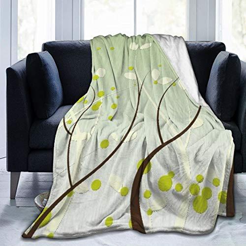 """NOLOVVHA Decke Werfen,Baum,Mikrofaser Ganzjahresbett Couch,60\"""" x 80\"""""""